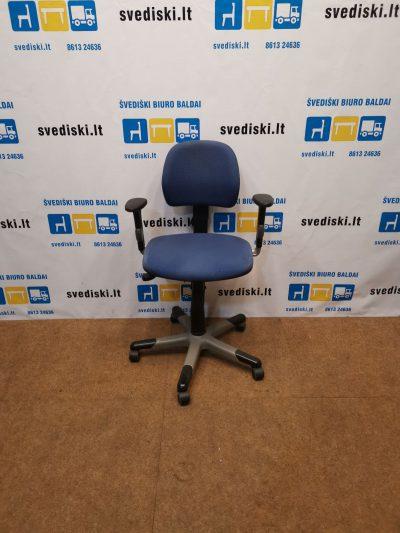 RH Logic Mėlyna Biuro Kėdė Su 3D Porankiais, Švedija