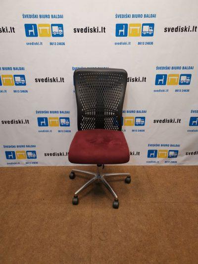 Ergonomiška Biuro Kėdė Su Alkantara Audiniu, Švedija
