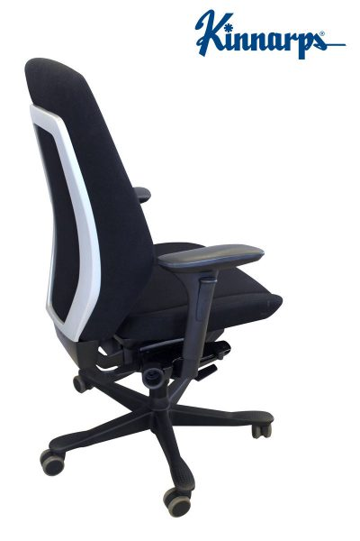 Kinnarps 9000 Ergonomiška Juoda Biuro Kėdė Su 3D Porankiais, Švedija