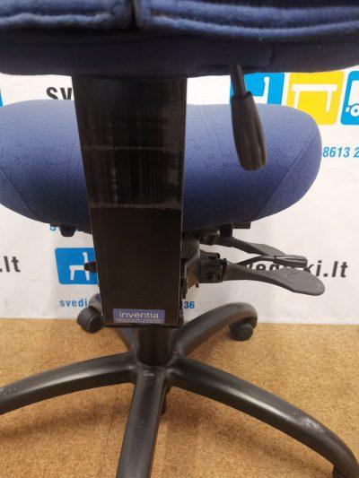 Inventia Mėlyna Biuro Kėdė Su Galvos Atlošu, Švedija