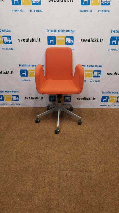 Ikea Patrik Oranžinė Biuro Kėdė, Švedija