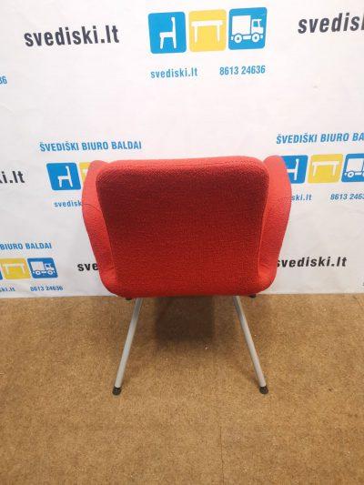 Ikea Patrik Raudona Konferencinė Kėdė, Švedija