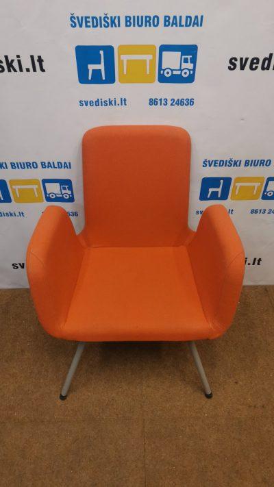 Ikea Patrik Oranžinė Konferencinė Kėdė, Švedija