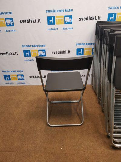 Ikea Jeff Juoda Sulankstoma Kėdė, Švedija