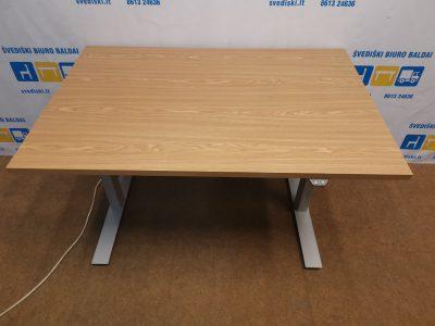 Linak Master Elektra Reguliuojamas Stalas Su Ąžuolo 120x80 Stalviršiu, Švedija