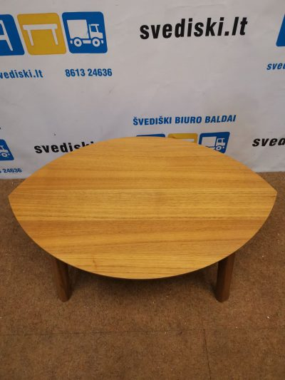 Ikea Stockholm Riešutmedžio Staliukas Lapo formos, Švedija
