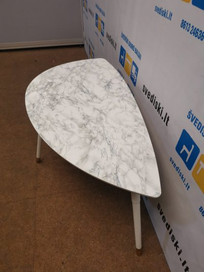 Ikea CARB P2 Baltas Staliukas Pailgos Formos, Švedija