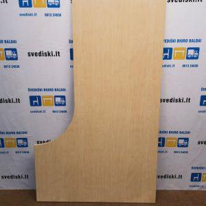 Šviesaus Medžio LMDP Dešininis Stalviršis 200cm Ilgio, Švedija
