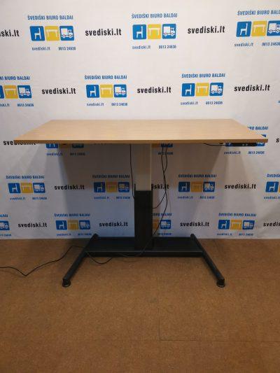 Swedstyle Elektra Reguliuojamas Stalas Su LMDP 160x80cm Stalviršiu, Švedija