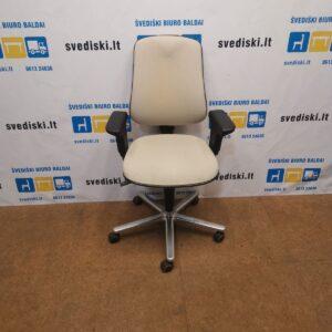 Hoganas Plus 361 Smėlio Spalvos Biuro Kėdė Su Porankiais, Švedija