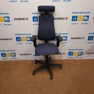 Hoganasmobler Plus 381S Mėlyna Biuro Kėdė Su Porankiais, Švedija