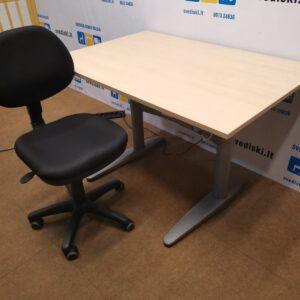 Komplektas EFG Elektra Reguliuojamas Stalas Ir Team Biuro Kėdė, Švedija