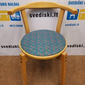 Buko Kėdė Su Margu Audiniu, Švedija