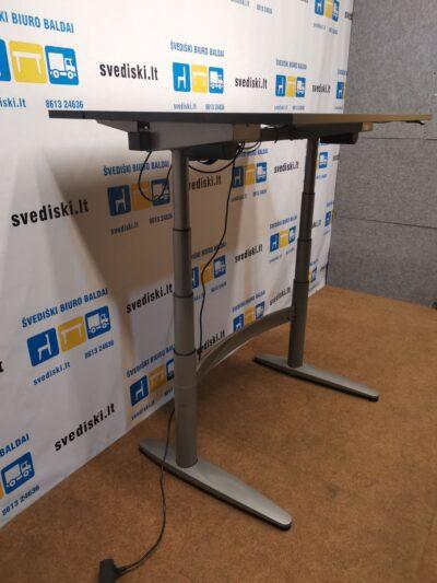 EFG Elektra Reguliuojamas Pilkas Stalo Mechanizmas Su Sa Mobler Stalviršiu, Švedija