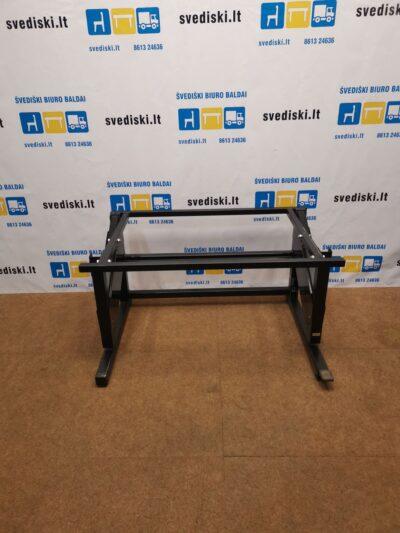 Ergonomiškas Juodas Reguliuojamo Aukščio 56 Iki 119cm Mechanizmas, Švedija