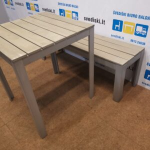 Ikea Komplektas Stalas+Suoliukas, Švedija
