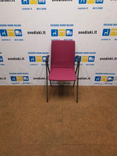 Isku Rudolf Violetinė Lankytojo kėdė Su Porankiais, Švedija