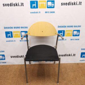 EFG Liisa Kėdė Su Juodu Alcantaros Audiniu, Švedija