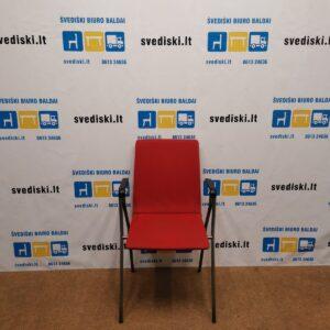 Isku Rudolf Raudona Lankytojo kėdė Su Porankiais, Švedija