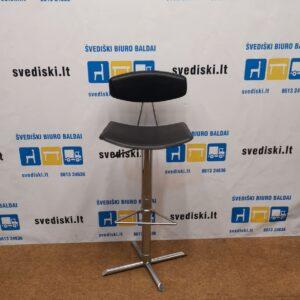 Actona Reguliuojamo Aukščio Baro Kėdė Su Natūralia Oda, Danija