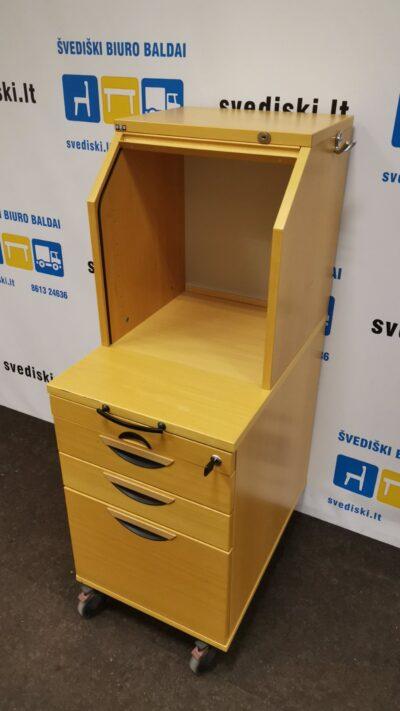 EFG Buko Stalčių Blokas Su 4 Stalčiais Ir Žaliuzinio Tipo Uždaroma Dalimi, Švedija
