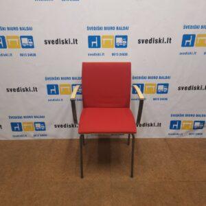 Isku Versio Raudona Lankytojo kėdė Su Porankiais, Švedija