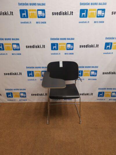 Offecct Lite Juoda Kėdė Su Staliuku, Švedija