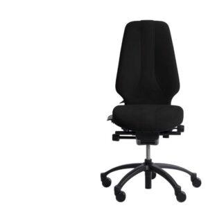 Nauja RH Logic 400 ESD Juoda Biuro Kėdė Su Aukšta Nugaros Atrama, Švedija