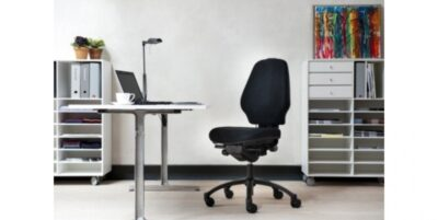 Nauja RH Logic 300 ESD Juoda Biuro Kėdė, Švedija