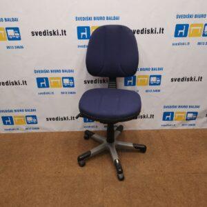 RH Logic 3 Mėlyna Biuro Kėdė, Švedija