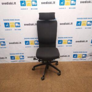 EFG Juoda Biuro Kėdė Su Galvos Atrama, Švedija