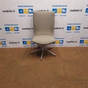 Offecct Smėlio Spalvos Linguojantis Fotelis Su Aukšta Nugaros Atrama, Švedija