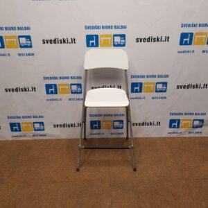 Ikea Franklin Balta Sulankstoma Baro Kėdė, Švedija