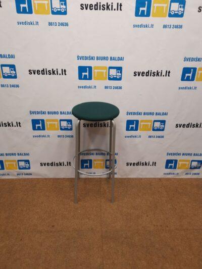 Kinnarps Frisbee Žalios Spalvos Baro Kėdė, Švedija