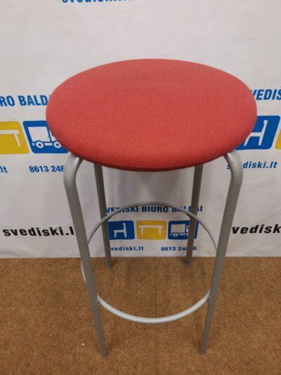 Kinnarps Frisbee Raudonos Spalvos Baro Kėdė, Švedija