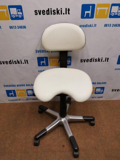 RH Labaratorinė Kėdė Su Natūralia Oda, Švedija