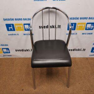 Kėdė Su Juoda Eko Oda, Švedija