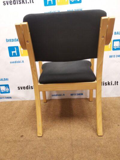 Juoda Lankytojo Kėdė Su Buko Rėmu, Švedija