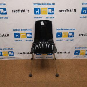 Softline Pauline Juodo Plastiko Kėdė, Italija