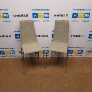 2x Kallemo Cobra Pilka Lankytojo Kėdė, Švedija