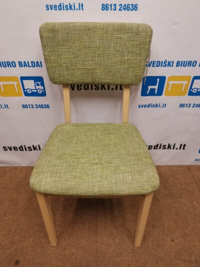 Lundbergs Clyde Žalsva Kėdė Su Beržo Rėmu, Švedija