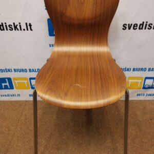 Kėdė Iš Faneros Su Chromuotu Rėmu, Švedija