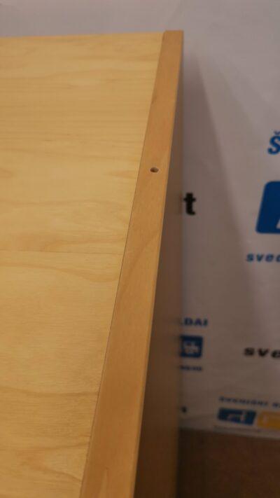 Martela Beržo Spintelė Su 3 Stalčiais Ir Ratukais , Švedija