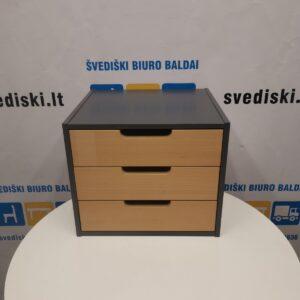 Stalčių Blokas Tvirtinamas Prie Biuro Stalo Su 3 Stalčiais, Švedija