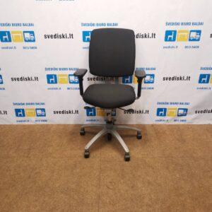 Drabert Entrada Juoda Ergonomiška Biuro Kėdė Su 3D Porankiais, Švedija
