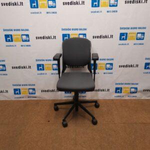 Ahrend 230 Antracito Ergonomiška Kėdė Su 3D Porankiais, Švedija