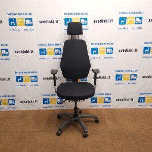 Toplux Optimum Z Juoda Biuro kėdė Su Galvos Atrama Ir Porankiais, Švedija
