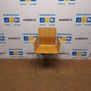 Garsnas Bird Kėdė Su Ąžuolo Fanera, Švedija