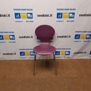 Danerka Rondo Violetinė Kėdė Su Pilku Rėmu, Danija
