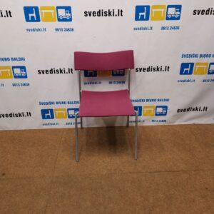 Lammhults Campus Violetinė Lankytojų Kėdė, Švedija